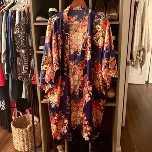 Other - Silk robe NWT